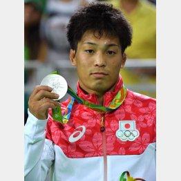 銀メダルを手にする太田(C)JMPA