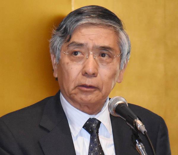 黒田総裁はどうする?(C)日刊ゲンダイ
