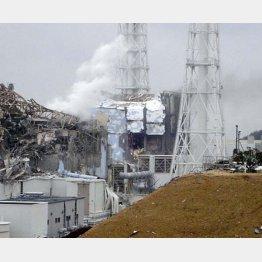 福島第1原発事故の本当の原因は地震か津波かいまだはっきりせず(東京電力提供)