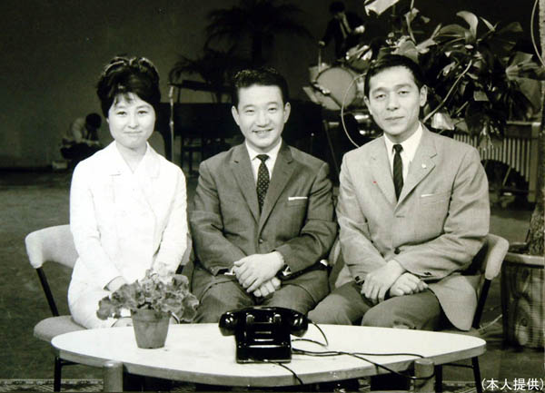 1965年(昭和40年)スタートした「小川宏ショー」/(本人提供)