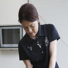 増田能子プロ<4>鉛筆1本で左のカベをチェックする