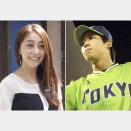 熊切あさ美と山田哲人は12歳差