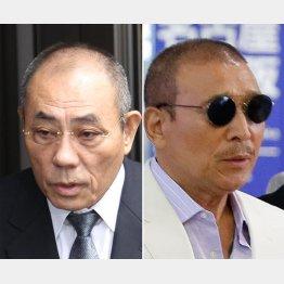神戸山口組・井上組長(左)と6代目・司忍組長
