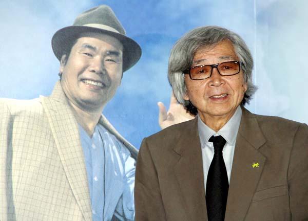 映画「男はつらいよ」の山田洋次監督(右)/(C)日刊ゲンダイ