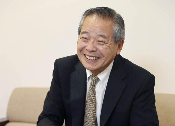 「休暇村協会」理事長の中島都志明さん(C)日刊ゲンダイ