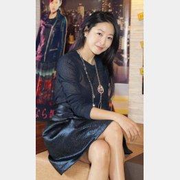 韓国女優のイ・ウヌ