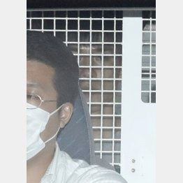 24日の午前、前橋地検に移送された高畑容疑者