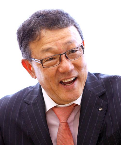 9月に新社長に就任する佐藤章氏(C)日刊ゲンダイ