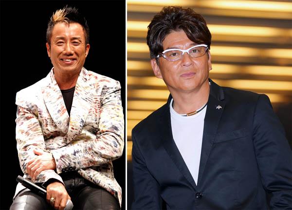 長渕剛(左)は俳優・哀川翔の生みの親(C)日刊ゲンダイ