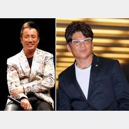 長渕剛(左)は俳優・哀川翔の生みの親