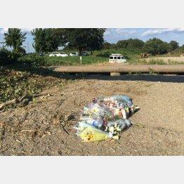 遺体が発見された東松山市の現場