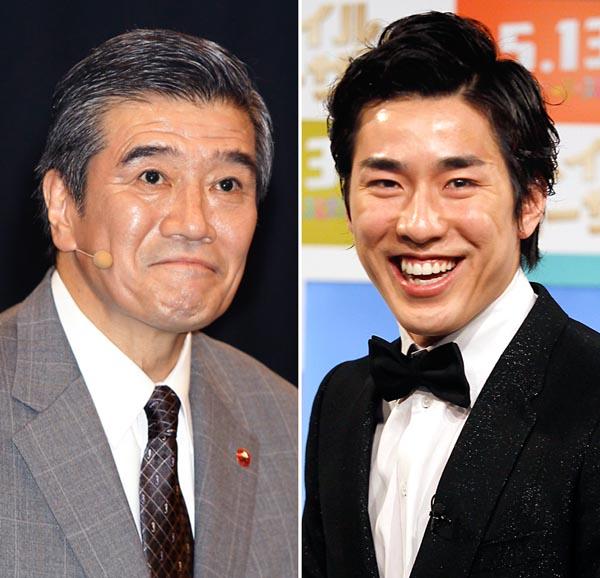 高畑裕太容疑者の父で俳優の大谷亮介(左)/(C)日刊ゲンダイ
