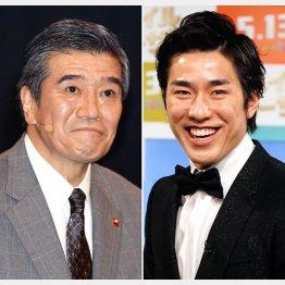 高畑裕太容疑者の父で俳優の大谷亮介(左)