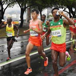 リオ五輪男子マラソンで16位に終わった佐々木悟(C)JMPA