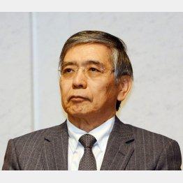 国際会議で恥をさらした黒田総裁(C)日刊ゲンダイ