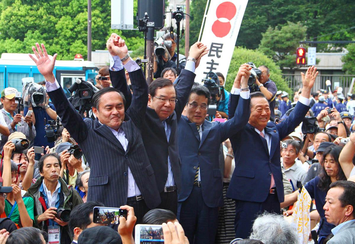 野党共闘は不可欠(C)日刊ゲンダイ