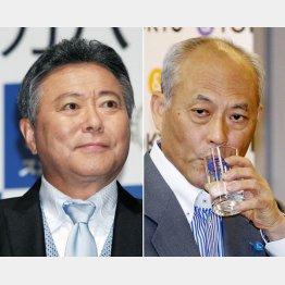 小倉智昭(左)と舛添前知事はどっちもどっち?(C)日刊ゲンダイ