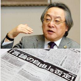 下は8月31日の意見広告(C)日刊ゲンダイ