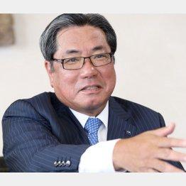 アサヒビールの平野伸一社長(C)日刊ゲンダイ