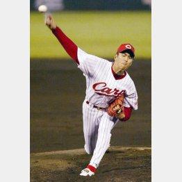 2002年シーズンの黒田博樹(C)日刊ゲンダイ