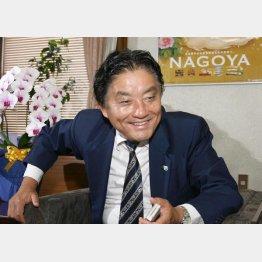 河村たかし名古屋市長(C)日刊ゲンダイ