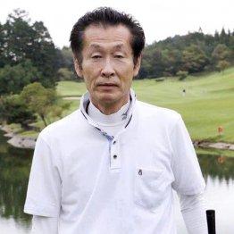 関洋治さん(61歳・HC15)テークバック始動は両肩、両腕から