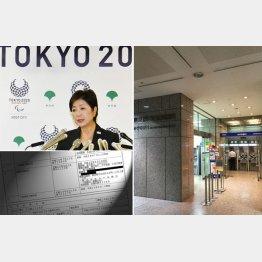都庁の1階にはみずほの支店もある(C)日刊ゲンダイ