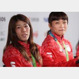 12月の日本選手権で女王同士の対決がいよいよ実現か(C)日刊ゲンダイ