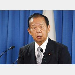 二階幹事長(C)日刊ゲンダイ