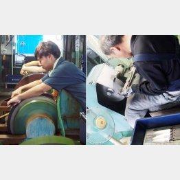 「藤次郎」には次世代を担う若い職人が(C)日刊ゲンダイ