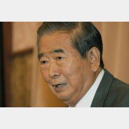 担当局長に直接指示した石原慎太郎元都知事