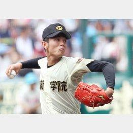ドラフト1位候補の今井(C)日刊ゲンダイ