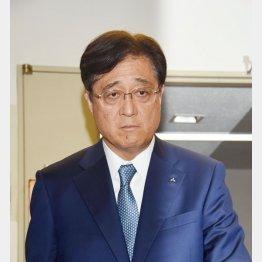 三菱商事出身の益子修会長(C)日刊ゲンダイ