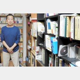 """本を書くことが""""充電""""になっている(C)日刊ゲンダイ"""