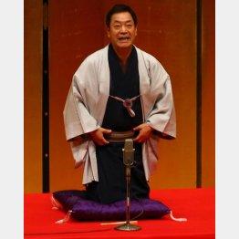 野球落語の評判が広がり大阪で月亭八方(写真)と二人会/(C)日刊ゲンダイ