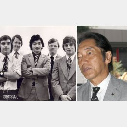 国際ジャーナリストでテレビキャスターの蟹瀬誠一氏(左はTIME紙サマーインターン時代=提供写真)