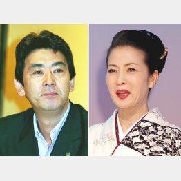 デビュー30周年を迎える坂本冬美(右)とおりも政夫(C)日刊ゲンダイ