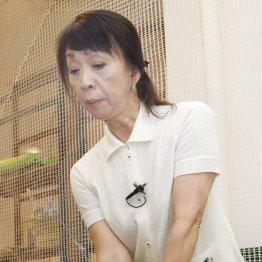 今村敏子プロ<2>ホウキで地面スレスレの感覚を身につける