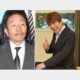 中田カウス(左)と大木こだま(C)日刊ゲンダイ