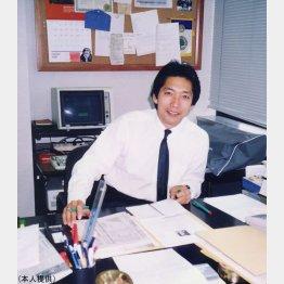 89年、TIME誌東京特派員時代の蟹瀬さん(提供写真)