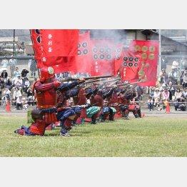 毎年4月に開催される「上田真田まつり」