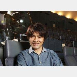 プラネタリウム・クリエーターの大平貴之氏(C)日刊ゲンダイ