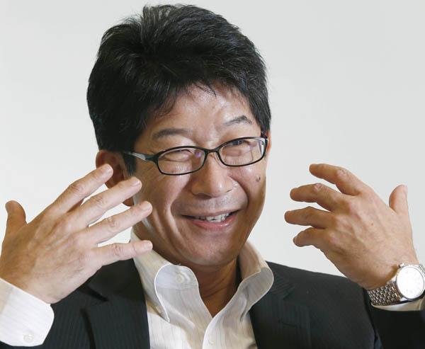 ROBOTの加太孝明社長(C)日刊ゲンダイ