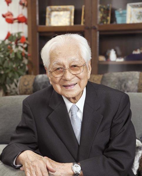 104歳の福井福太郎さん(C)日刊ゲンダイ