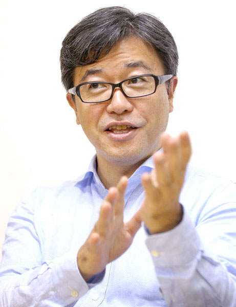 春田真氏は現在、株式会社ベータカタリスト代表取締役CEO(C)日刊ゲンダイ
