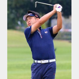 池田勇太は2日目に好位置につけた(C)日刊ゲンダイ