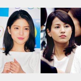「ZIP!」の川島海荷(左)と「めざましテレビ」の永島優美(C)日刊ゲンダイ
