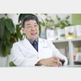 白澤抗加齢医学研究所の白澤卓二所長(C)日刊ゲンダイ