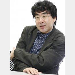 作家・中川右介氏(C)日刊ゲンダイ