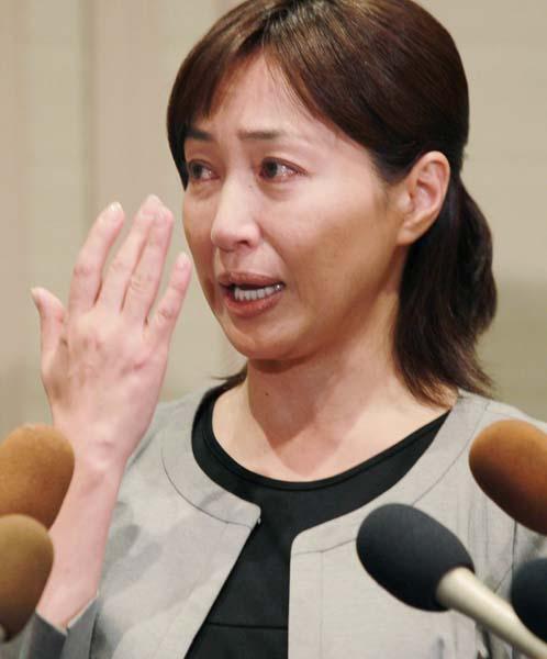 涙の謝罪会見から約3カ月半ぶり(C)日刊ゲンダイ